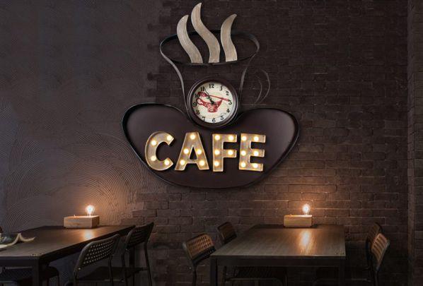 Bảng hiệu cafe ấn tượng