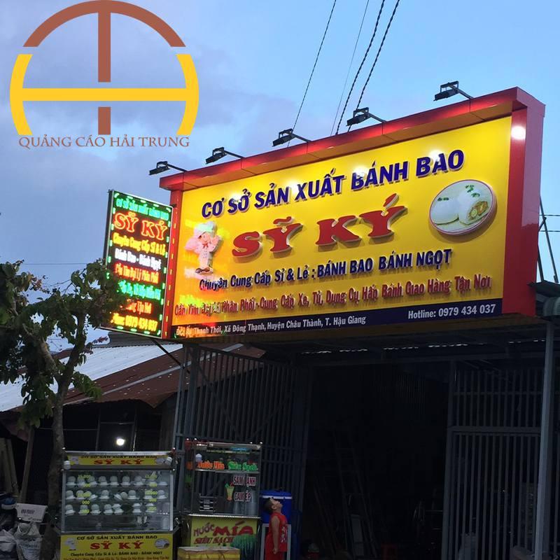 Mẫu bảng hiệu quảng cáo